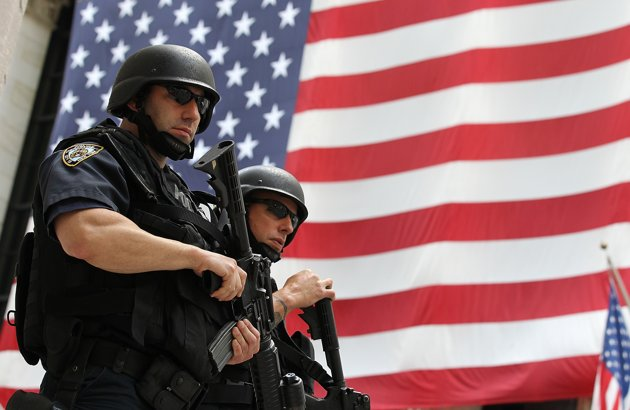police state fascism american flag new york nyc washington dc terrorist threat terrorism