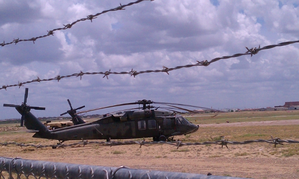 black hawk helicopter laredo airport apache hydra rocket launcher hellfire missle military army drills border south texas tracesofreality traces of reality guillermo jimenez tor torradio radio podcast police state militarization martial law