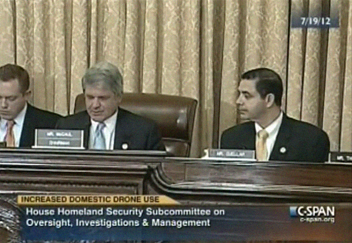 House Homeland Security Subcommittee on Oversight, Investigations, and Management Hearing henry cuellar Michael McCaul Jeff Duncan republican democrat austin texas laredo border drones military defense contracts