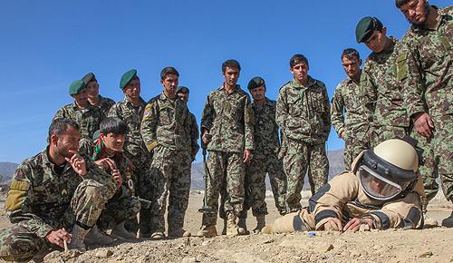 Afghan National Army training