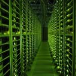 Google server room, or NSA cloud matrix