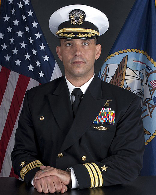 U.S. Navy SEAL Team Four Commander John W. Price