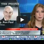 "Ron Paul on CNBC 12/28/12: ""Republicans and Democrats pretend they're fighting"" as they spend ""like a bunch of drug addicts that just want another fix!"""