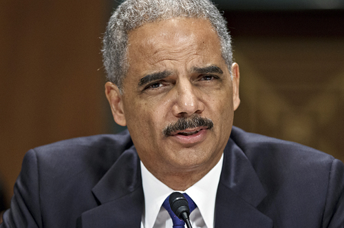 Transnational gun-runner, Attorney General Eric Holder