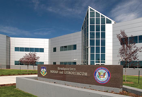 NORAD-NORTHCOM Headquarters at Peterson Air Force Base, Colorado