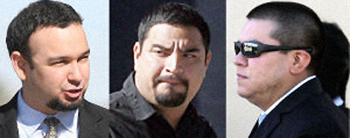 (Left to right): Jonathan Treviño, Gerardo Duran, Alexis Espinoza