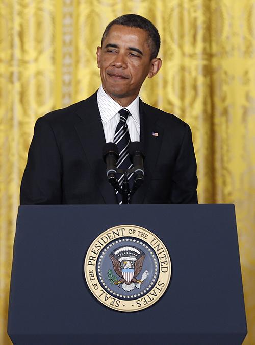 Behold, Barack Obama