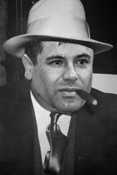 "DEA's Chicago Division Special Agent in Charge Jack Riley: ""If I was to put those two guys in a ring, El Chapo would eat that guy [Al Capone] alive."""