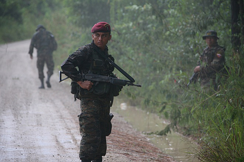 Kaibiles, Guatemala's special operations force and notorious death squad