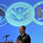 Triple Threat: Gen. Keith B. Alexander, present Director of NSA, Chief of CSS, and USCYBERCOM Commander.