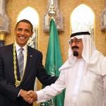 BFFs: President Barack H. Obama and Saudi King Abdullah bin Abdul Aziz al-Saud