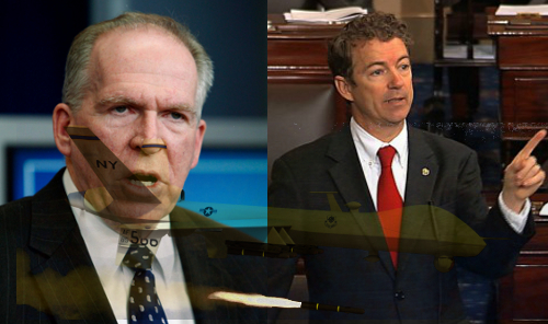 John Brennan Rand Paul Filibuster drones tracesofreality traces of reality TOR