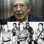 Thirty years later, Guatemalan dictator, José Efraín Ríos Montt goes to trial for genocide and crimes against humanity. Below, a file photo from the Associate Press, depicting the Reagan administration-backed March 23, 1982 coup d'etat.