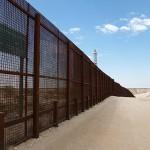 The border fence between El Paso and Ciudad Juárez