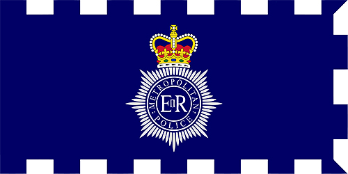 The flag of the Metropolitan Police Service