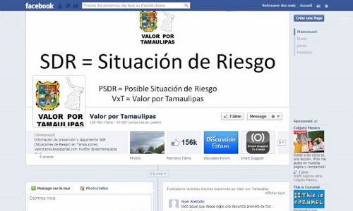 Valor Por Tamaulipas Bravery Social Media Watchdog threats Cartels Mexico Drug War Texas