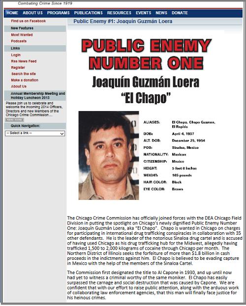 El Chapo: Public Enemy Number One
