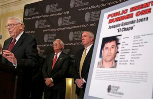 El Chapo Guzman Chicago Mexican Drug Cartels CDG Gulf Sinaloa Zetas
