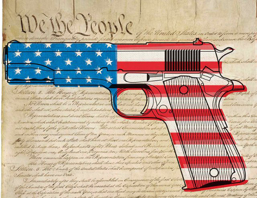 Constitution 2nd Amendment Guns We the People Gun Control