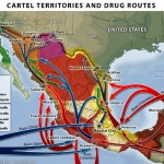 Drug Cartel Territories and Routes