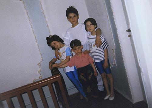 The Tsarnaev children