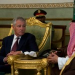 Chuck Hagel in Saudi Arabia