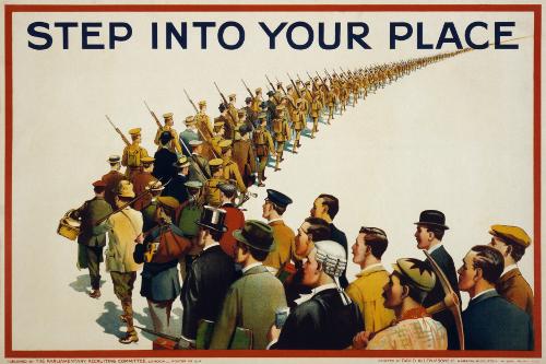 Propaganda Poster - 1915