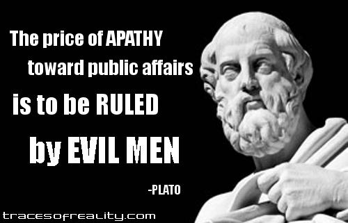 Plato Public Apathy