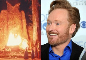 Conan O'Brien Worships Molech Bohemian Grove