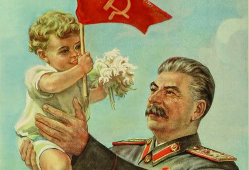 Stalin Propaganda Poster