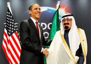 King Abdullah Barack Obama