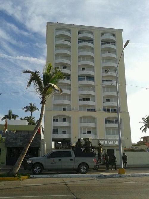 Chapo was apprehended at the Miramar Inn in Mazatlán