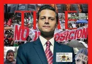 EPN Mock Cover TIME Enrique Pena Nieto Savior Mexico