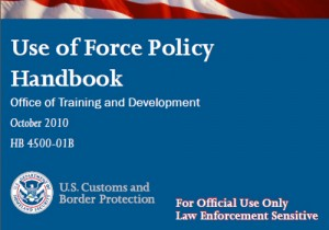 CBP Use of Force Handbook