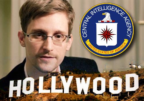 Edward Snowden CIA Hollywood